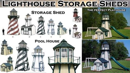 Lighthouse Storage Sheds