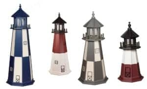 Authentic Polywood Lighthouses