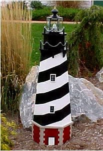 Lawn Lighthouse Plans The Lighthouse Man