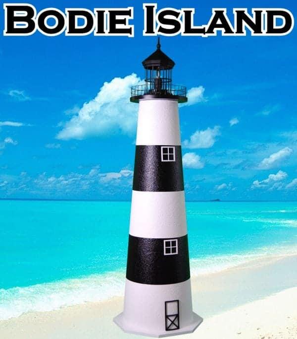 Bodie Island E-Line Stucco Lawn Lighthouses 2