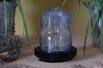 Lawn Lighthouse Fresnel Lens