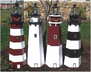 lawn lighthouse plans - Amish Lighthouse Plans