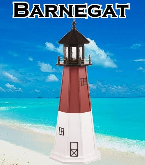 Barnegat Wooden Lawn Lighthouses