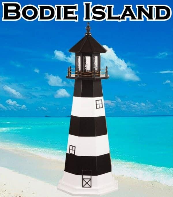 Bodie Island Wooden Garden Lighthouse