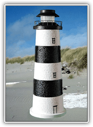 Bodie Island Lighthouse Tier Lights