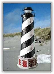 Cape Hatteras Lighthouse Tier Lights