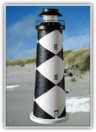 Cape Lookout Lighthouse Pathway Lights
