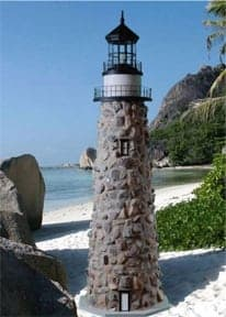 Stone Lawn Lighthouses for your yard or Garden