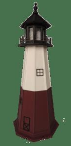 Vermillion Polywood Lighthouse