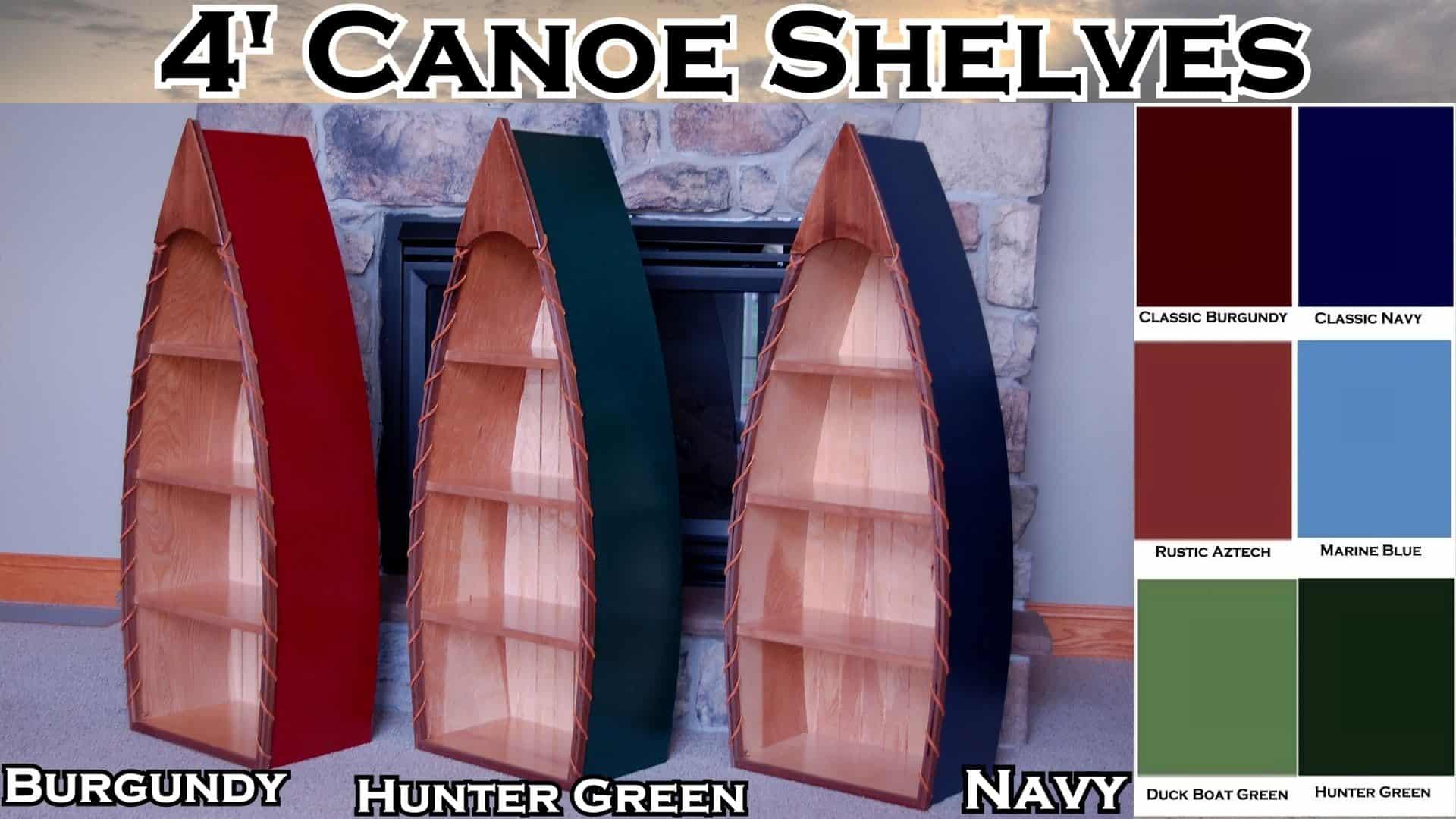 Canoe Shelves The Lighthouse Man