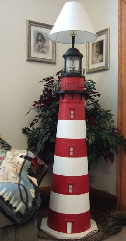 Assateague Lighthouse Floor Lamps