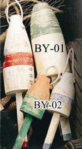 Ornamental Buoys, Decorative Buoys BY-01 BY-02