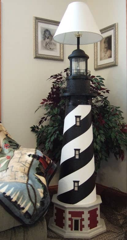 Cape Hatteras Lighthouse Floor Lamps