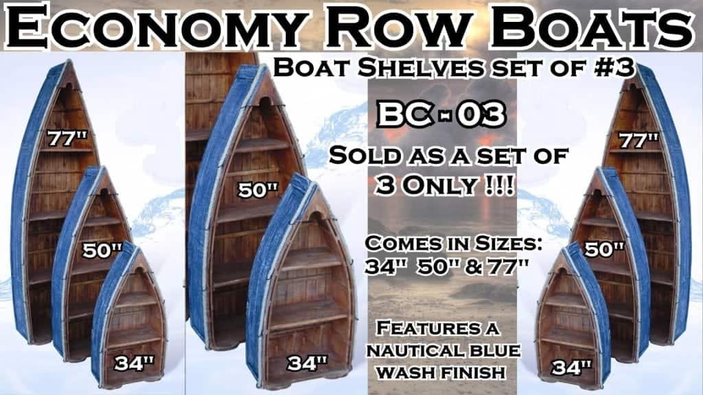 Economy Row Boats Row Boats BC-03