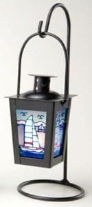 Nautical Lanterns Maritime Lights - Hanging Candle Holder Sailboat IL-801S