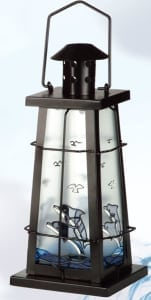 Nautical Lanterns Maritime Lights - Dolphin Candle Holder IL-805D