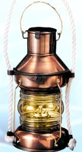 Nautical Lanterns Maritime Lights - Anchor Oil Lantern IL-815