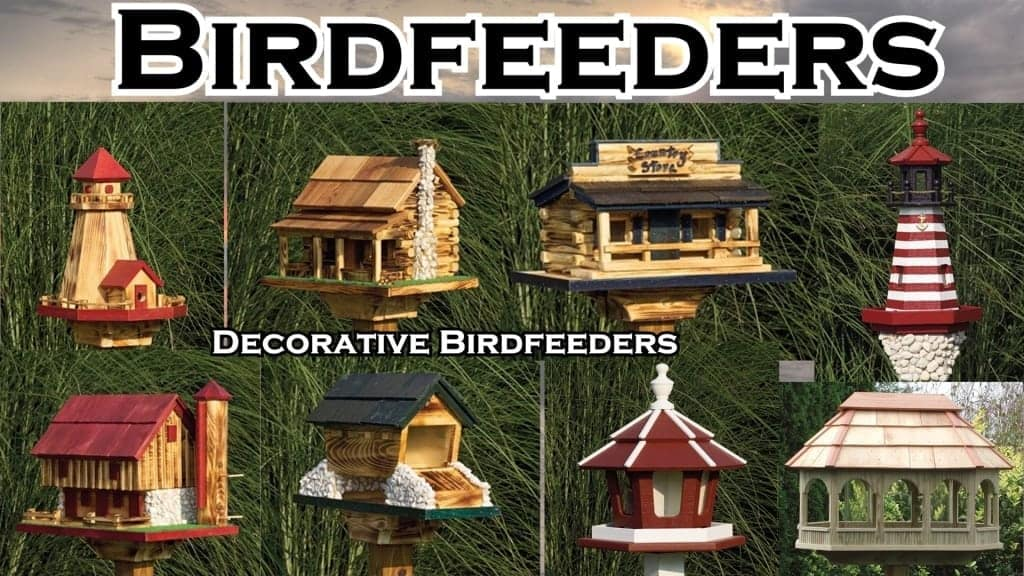 Birdfeeders for your Lawn or Garden