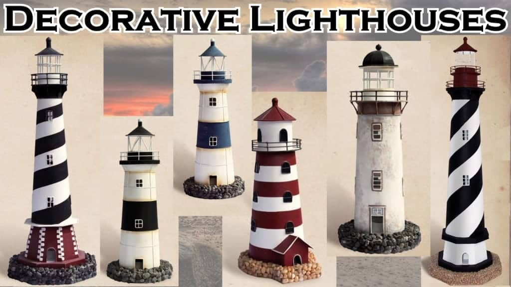 Lighthouse Decor Decorative Lighthouses