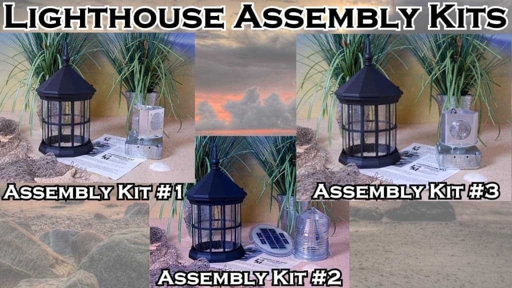 DIY Lighthouse Kits and Plans for lawn lighthouses