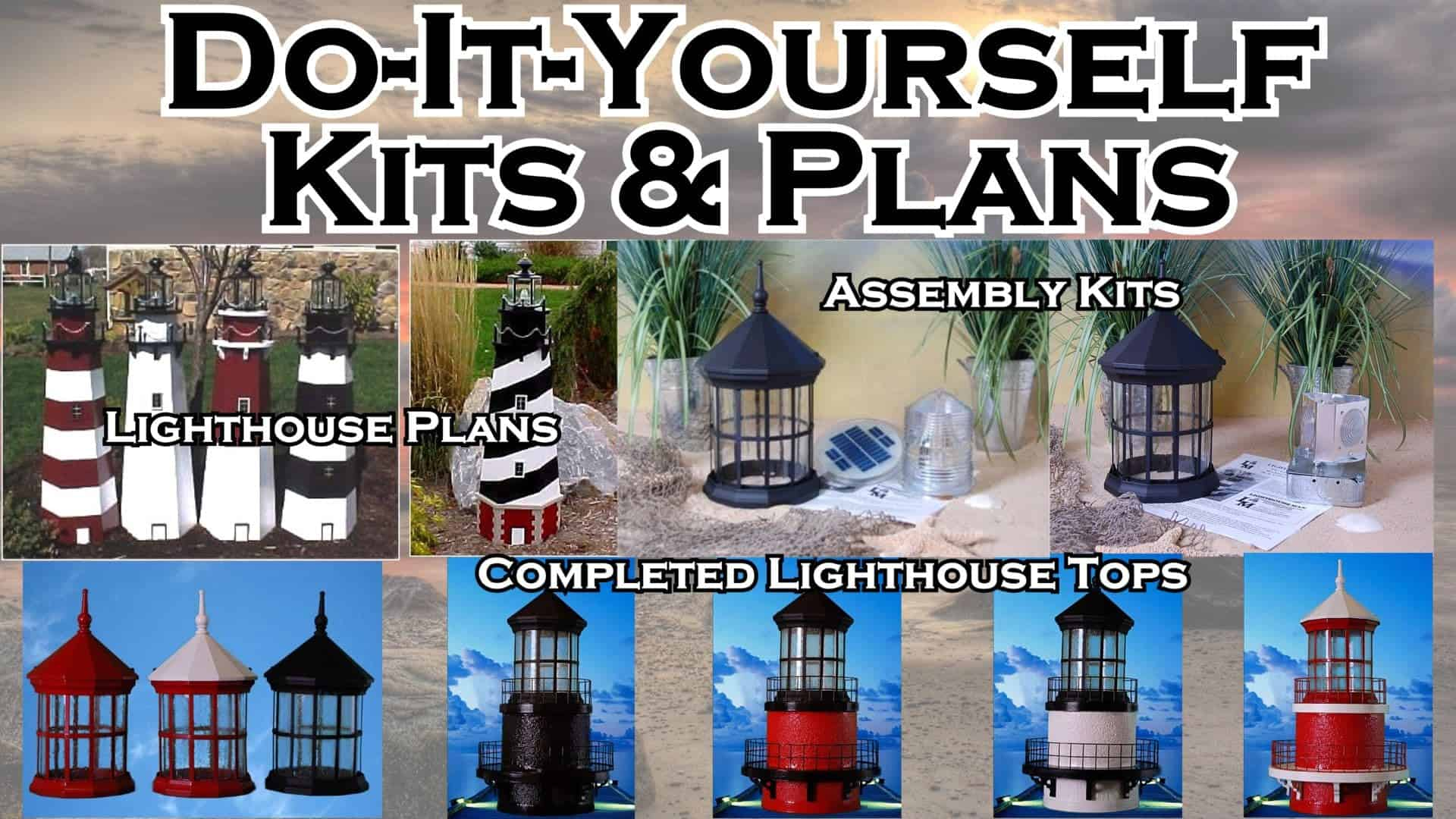 Lighthouse Kits And Plans The Lighthouse Man