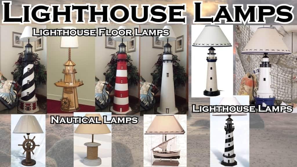 Lighthouse Decor - Lighthouse Lamps