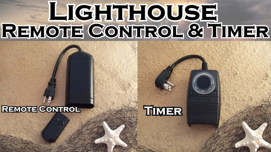 Lighthouse Remote Control & Timer