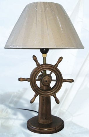 Good Lighthouse Lamps   Ship Wheel Lamp LM 800
