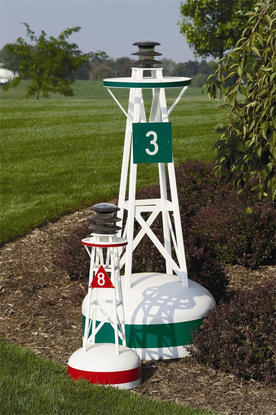 Ornamental Buoys - Ornamental Lawn Bouys Large Buoy