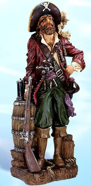 Pirate Figurines - Pirate with Rifle PS-485