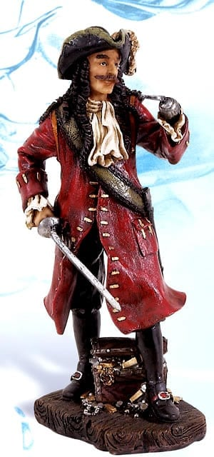 Pirate Figurines - Captain Hook PS-486