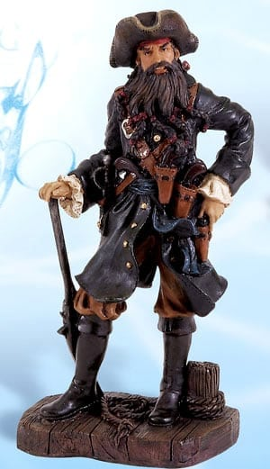 Nautical Figurines - Pirate Figurines and statues