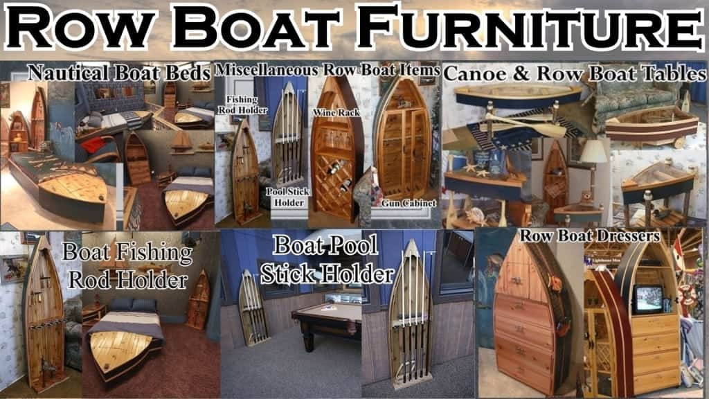 Row Boat Furniture The Lighthouse Man