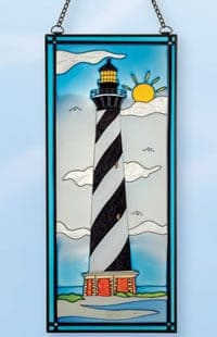 Cape Hatteras Stain Glass Lighthouses SG-1576