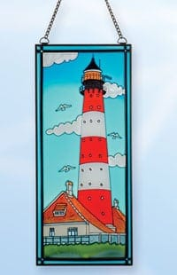Stained Glass Lighthouses SG-1577