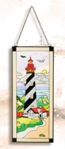 St Augustine Stain Glass Lighthouses SG-1581