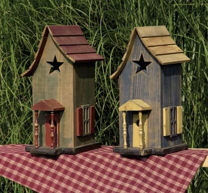 Primitive Birdhouses The Lighthouse Man