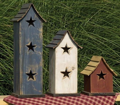 Bird Houses - Primitive Birdhouese