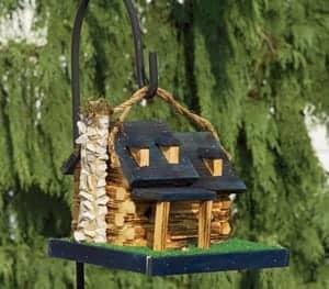 Decorative Birdhouses Log Cabin Birdhouse TO 3011