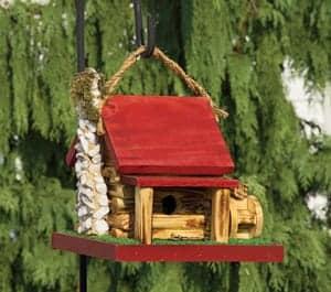 Decorative Birdhouses Mill Cabin Birdhouse TO-3013