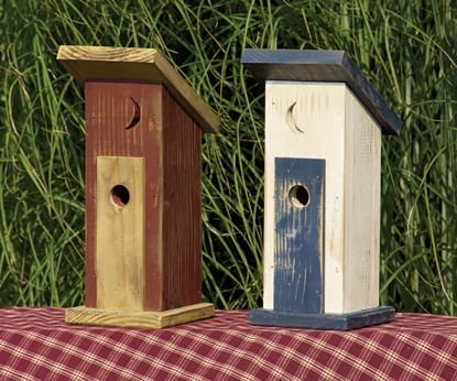 Primitive Birdhouses   Primitive Outdoor Birdhouse TO 3023