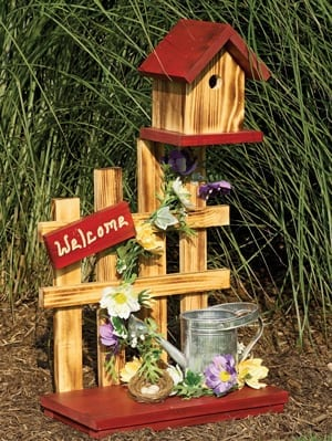 Wooden Decorative Birdhouses - The Lighthouse Man on squirrel fence, bird fence, elephant fence, planter fence, mirror fence, animal fence, bear fence, tree fence, circular fence, bench fence, art fence, cottage fence, slave fence, bicycle fence, pumpkin fence, brush fence, painting fence, reclaimed old wood fence, animated picket fence, bunny fence,
