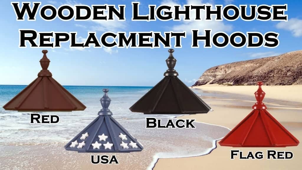 Wooden Lighthouse Replacement Parts
