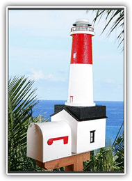 Barnegat Lighthouse Mailboxes
