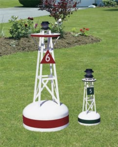 Ornamental Buoys - Decorative Ornamental Lawn Buoys