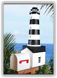 Cape Canaveral Lighthouse Mailboxes