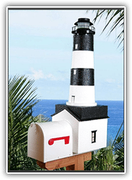 Fire Island Lighthouse Mailboxes