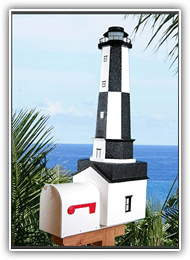 Cape Henry Lighthouse Mailboxes