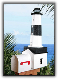 Montaul Lighthouse Mailboxes