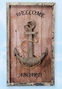 Decorative Anchors - Anchor Plaque MP-660